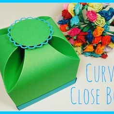 This box makes a nice change from the standard square boxes and it's big too. Follow my really easy tutorial, link above. . . . . . #curveboxes #boxes #giftboxes #gifts #makeitdontbuyit #mixedupcraft #papercraft #crafting #crafters #love #instadaily #diecutting #unusualboxes #unusualgiftboxes