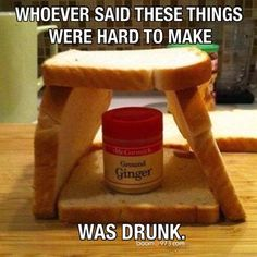 That's one way to make a Ginger Bread House.