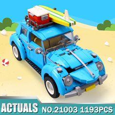 1193 Pcs Volkswagen Beetle model 10252 Technic Building Blocks Kits Bricks Toys #Unbranded