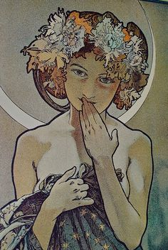 Mucha. Art Nouveau is quite possibly my most favorite artistic movement of all time