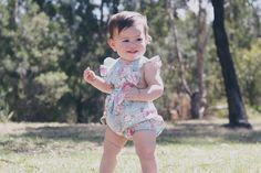 """102 Likes, 26 Comments - ROSIE CHEEKS™ (@rosiecheekskids) on Instagram: """"Our Button Top Romper in Vintage Rose is available online from size newborn to 3! ❤️ don't miss out…"""""""