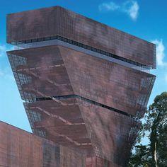 de Young-Museum in San Francisco - Fassade - Kultur / Bildung - baunetzwissen.de