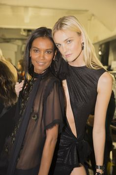 @versaceofficial   S/S 2016  @backstageat   See more @voguemagazine: http://bkstge.at/MFW-PHOTO-DIARY-VOGUE