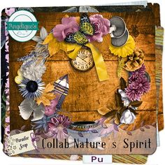 Collab Nature Of Spirit by Angelique's Scraps & ScrapAngie http://www.digi-boutik.com/boutique/index.php?main_page=product_info&cPath=258&products_id=9744