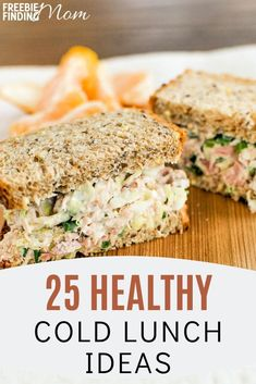 Tired of the same boring lunches? If you want to eat healthy yet have delicious, fulfilling lunches, check out these healthy lunch ideas for work or home! Here you'll find easy to make healthy cold lu Low Calorie Lunches, Healthy Lunches For Work, No Calorie Foods, Healthy Eating, Easy Work Lunch, Easy Healthy Lunch Ideas, Work Lunches, School Lunches, Clean Eating