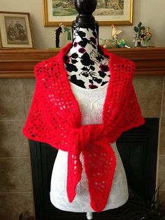 Ravelry: Project Gallery for Crochet Prayer Shawl pattern by Bernat Design Studio
