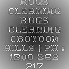 Rugs Cleaning Rugs Cleaning Croydon Hills | Ph : 1300 362 217