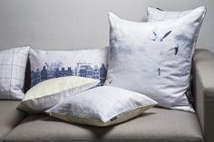 Christian Fischbacher cushions EARLY BIRD