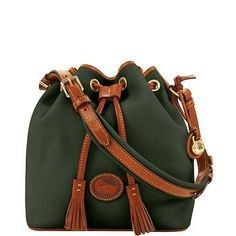 Dooney & Bourke: All Weather Leather Medium Drawstring