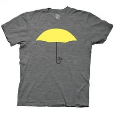 How I Met Your Mother Yellow Umbrella T-Shirt