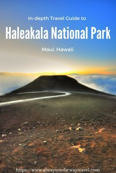 Located feet above sea level, Haleakala has world's largest dormant volcano and is a popular destination to watch the sunrise. Here is an in-depth guide on how to make the most out of your trip to Haleakala on Maui, Hawaii, USA Hawaii Honeymoon, Hawaii Vacation, Maui Hawaii, Hawaii Usa, Oahu, Tropical Vacations, Usa Travel Guide, Travel Usa, Travel Tips