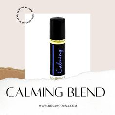 CALMING BLEND 30ML - Rosa Mgouna #calming #oils #essential