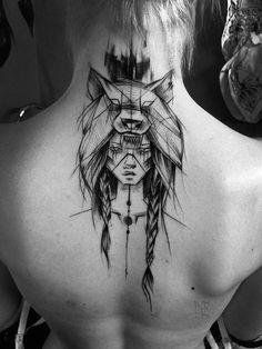 2017 trend Geometric Tattoo - Inez Janiak, young Polish tattoo artist, decorates the skin of her clients with ...