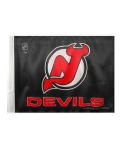 Rico Industries New Jersey Devils Car Flag - Team Color