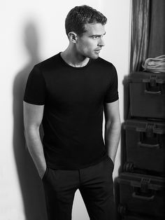 Theo James Hugo Boss campaign ad