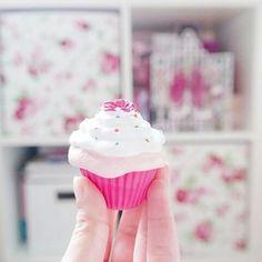 Imagem de cupcake and pink