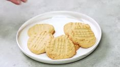 Peanut Butter Cookies - The Salty Marshmallow Making Peanut Butter, Soft Peanut Butter Cookies, Perfect Chocolate Chip Cookies, Best Peanut Butter, Best Sugar Cookies, Peanut Butter Oatmeal, Natural Peanut Butter, Creamy Peanut Butter, Butterfly Felt