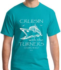 Be ready for the best family reunion ever in this Cruisin' family reunion shirt! Yay, Cruise! Love the color!