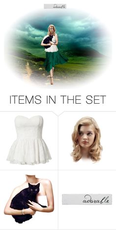"""Adorable"" by malathik ❤ liked on Polyvore featuring art"