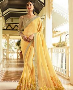 Check out the online collection of Sarees in the Catalog 7603 at Indian Cloth Store. Get Catalog 7603 of Sarees in various designs, colors & sizes. Indian Look, Indian Wear, Sarees Online India, Plain Saree, Arab Fashion, Casual Saree, Designer Sarees Online, Online Collections, Indian Outfits