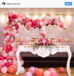 Ideia com balões - Arcos desconstruídos 16