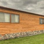 Single Wide Mobile Homes with Wood Siding