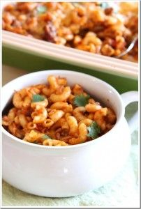 Zesty Cheesy Chili Mac, a #NewTraDish