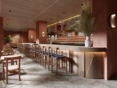 Cafe Restaurant, Restaurant Design, Cafe Interior, Interior Design, Bakery Shop Design, Great Hotel, Tasting Room, Interior Architecture, Branding Design