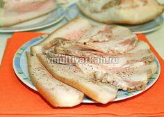 Запеченное сало в мультиварке: пошаговый рецепт вкусной закуски   Готовим в мультиварках