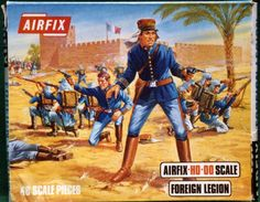 French Foreign Legion Officer in General Discussion Forum 1970s Childhood, Childhood Toys, Childhood Memories, Sweet Memories, Airfix Models, Plastic Soldier, French Foreign Legion, Toy Soldiers, Small Soldiers