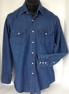 """Chest 47"""" -Back yoke 18 1/4"""". 100% Cotton - x-long shirt tails. Mens 16 / 34 - Tapered Fit - Long Sleeves. Sleeve shoulder to hem cuff - 25"""". 