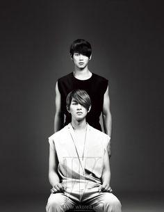 Minho & Onew shinee