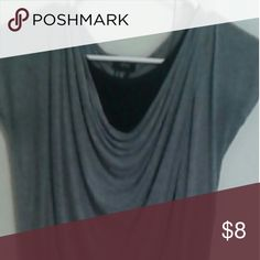 H&M blouse Used H&M blouse grey size 8-10y front neck has a black lining H&M Tops Blouses