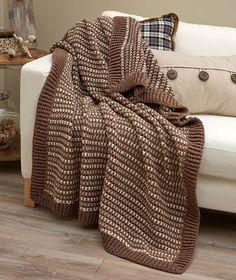 Lakehouse Crochet Throw