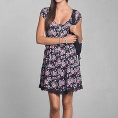 Womens Kendell Babydoll Dress | Womens Clearance | Abercrombie.com