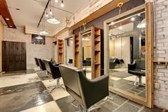 Gibson Hair & Makeup Salon by Gibson Concepts & Design, Charleston – South Carolina » Retail Design Blog