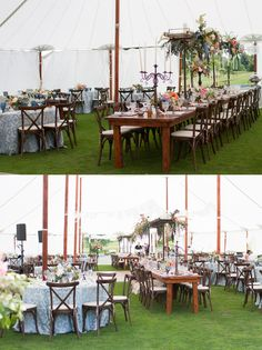 Geneva National Tent Wedding. Floral by Frontier Flowers of Fontana.Photo by Elyse Bullard Photography