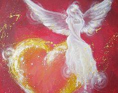 Foto de arte de angel limitada siempre una luz por HenriettesART