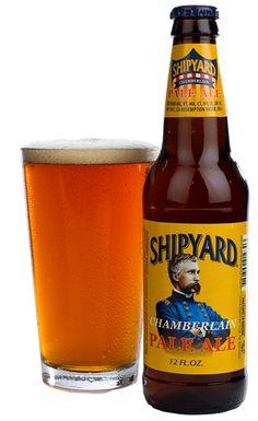 Chamberlain Pale Ale   Shipyard Brewing Company