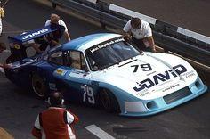 LM - Porsche Langheck (Fitzpatrick / Hobbs) > laps behind) David Hobbs, Porsche 935, Courses, Le Mans, Race Cars, Racing, Vehicles, Monsters, Wheels