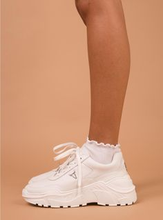 50197ca949e8 Windsor Smith Carte Sneaker White - left side view
