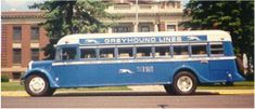 Greyhound bus from 1927.