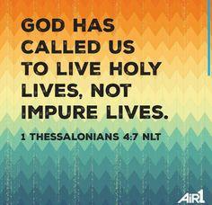 1 Thessalonians 4:7