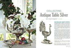 #Collecting #Antique #Silver #Frenchgardenhousestyle