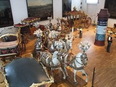 Wagenburg / Carriage Museum / Museu dos coches Wien / Viena by Miguel H. Carriço, via Flickr