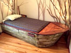 Boat Bed with secret compartment