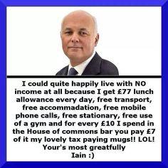Despicable Tory Scum....
