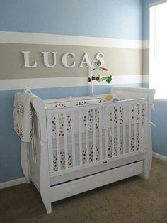 Decoracion de cuarto de bebe