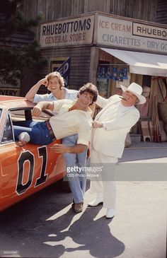 Sorrell Booke Photo Gallery. Coy Duke smiles as Vance Duke is dragged out  of the 'General Lee' by