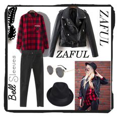 """#zaful"" by amraaaaa ❤ liked on Polyvore"